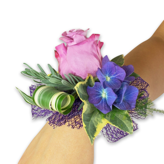 OVER THE MOON WEDDING CORSAGE 1