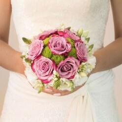 PURE ROMANCE BRIDAL BOUQUET 2