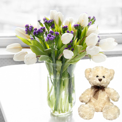 MEMORY BOUQUET BEAR
