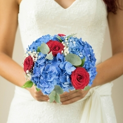 I CHERISH YOU BRIDAL BOUQUET