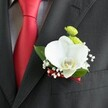 ORCHID BOUTONNIERE 2