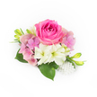 PRETTY IN PINK WEDDING CORSAGE 2